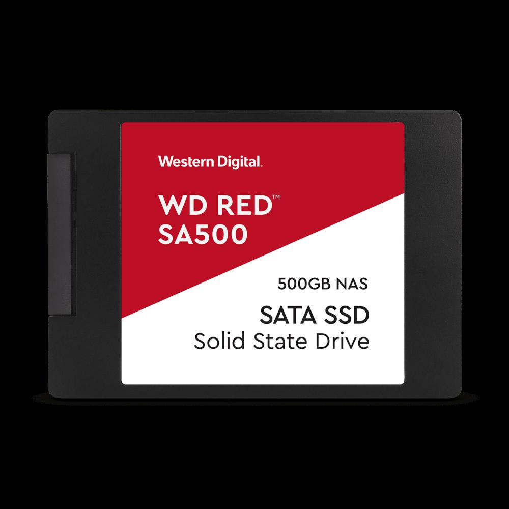 SSD 2,5'' 500GB WD Red SA500 SATAIII 7mm