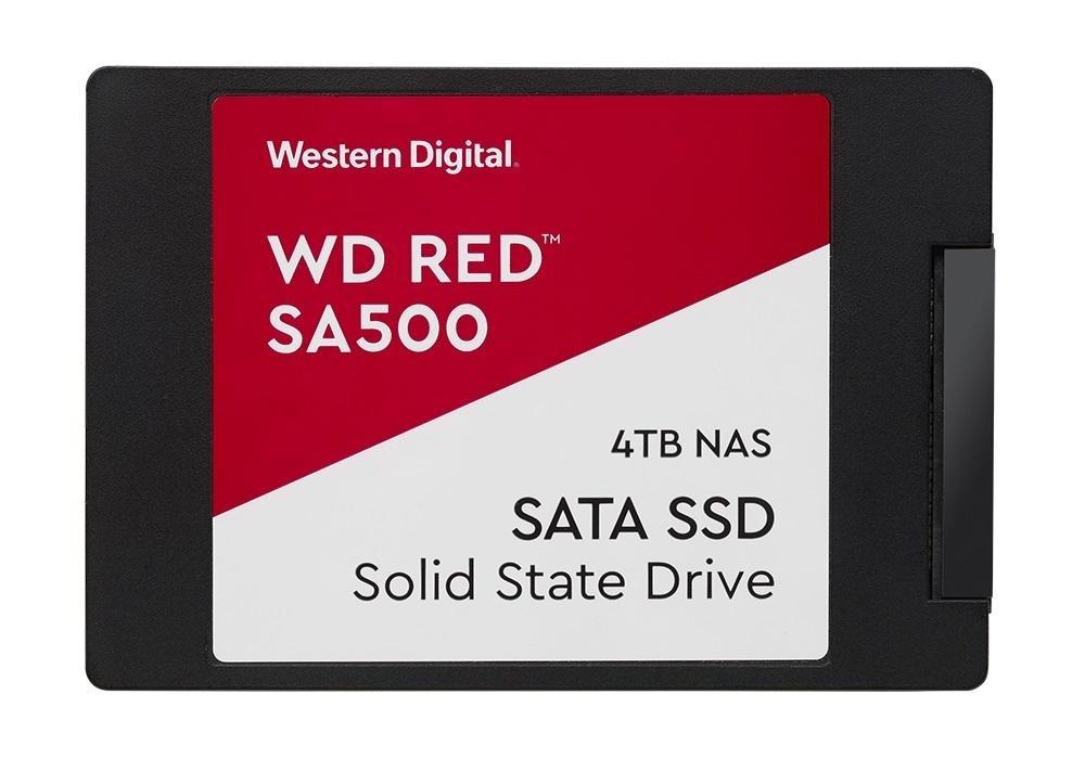 SSD 2,5'' 4TB WD Red SA500 SATAIII 7mm