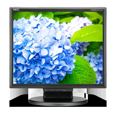 17'' LED NEC E172M,1280x1024,TN,250cd,50mm,BK
