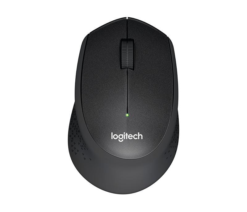 myš Logitech Wireless Mouse M330 silent plus čern
