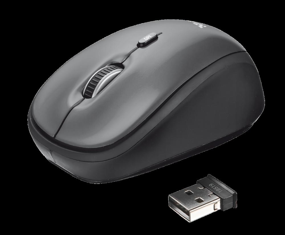 myš TRUST Yvi Wireless Mini Mouse