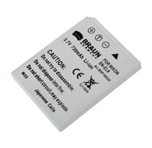 Braun akumulátor NIKON EN-EL8, 730mAh