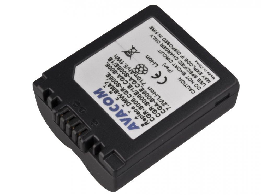Baterie AVACOM Panasonic CGA-S006 Li-ion 7.2V