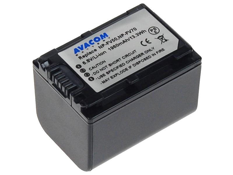 Baterie AVACOM Sony NP-FV70 Li-ion 6.8V 1960mAh
