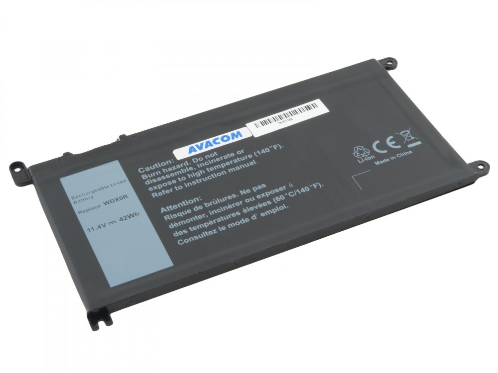 Baterie AVACOM pro Dell Inspiron 15 5568, 13 5368 Li-Ion 11,4V 3684mAh 42Wh