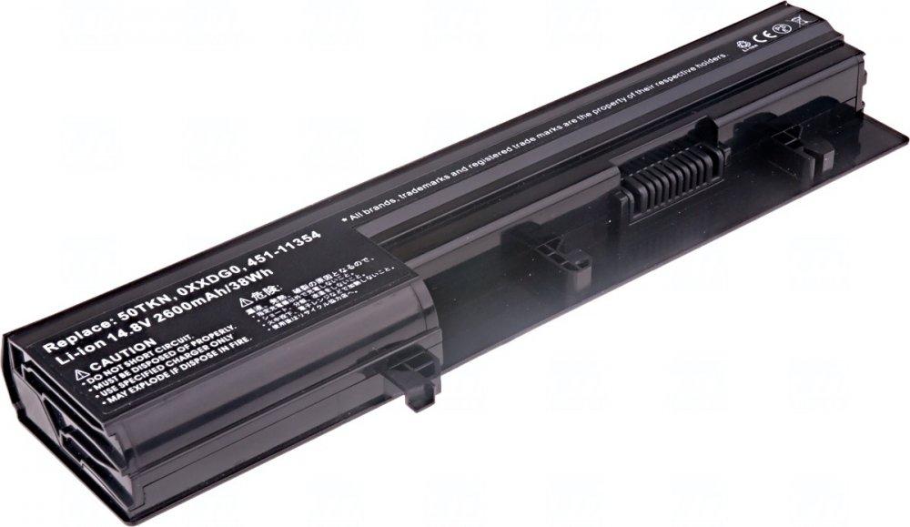 Baterie T6 power Dell Vostro 3300, 3350 serie, 4cell, 2600mAh