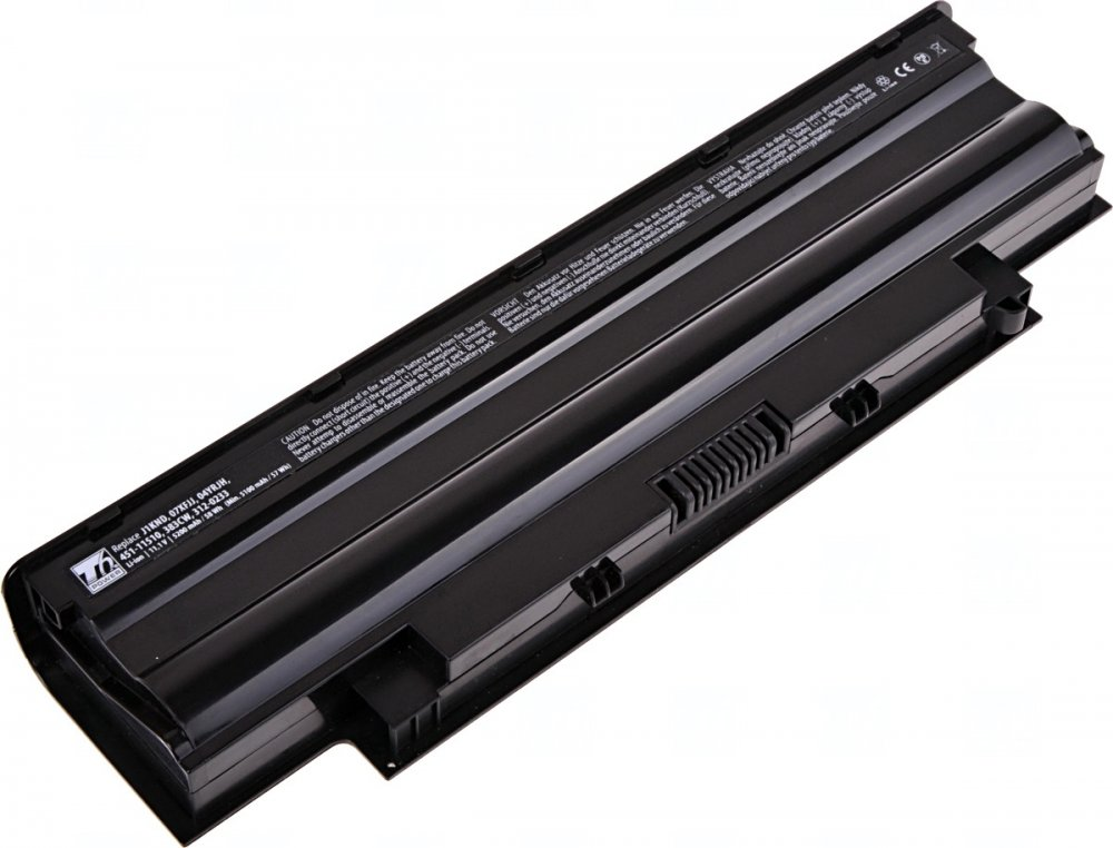 Baterie T6 power Dell Inspiron 13R, 15R, 17R, 6cell, 5200mAh