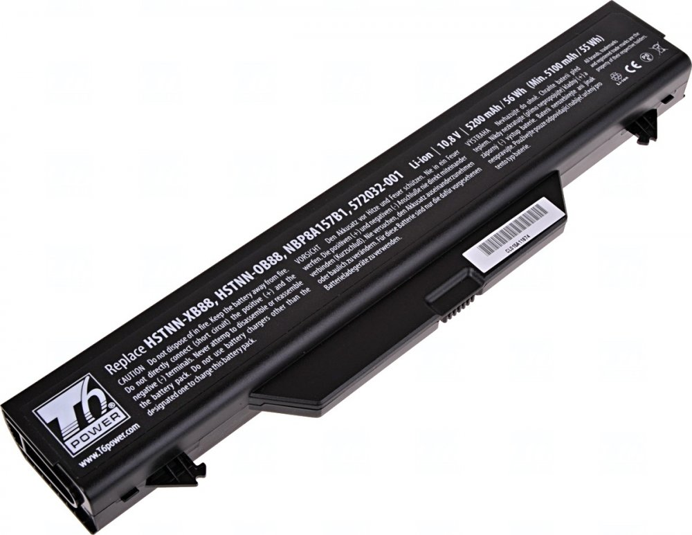 Baterie T6 power HP ProBook 4510s, 4515s, 4710s, 6cell, 5200mAh