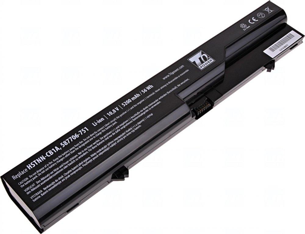 Baterie T6 power HP ProBook 4320s, 4420s, 4520s, HP 320, 325, 420, 620, 625, 6cell, 5200mAh