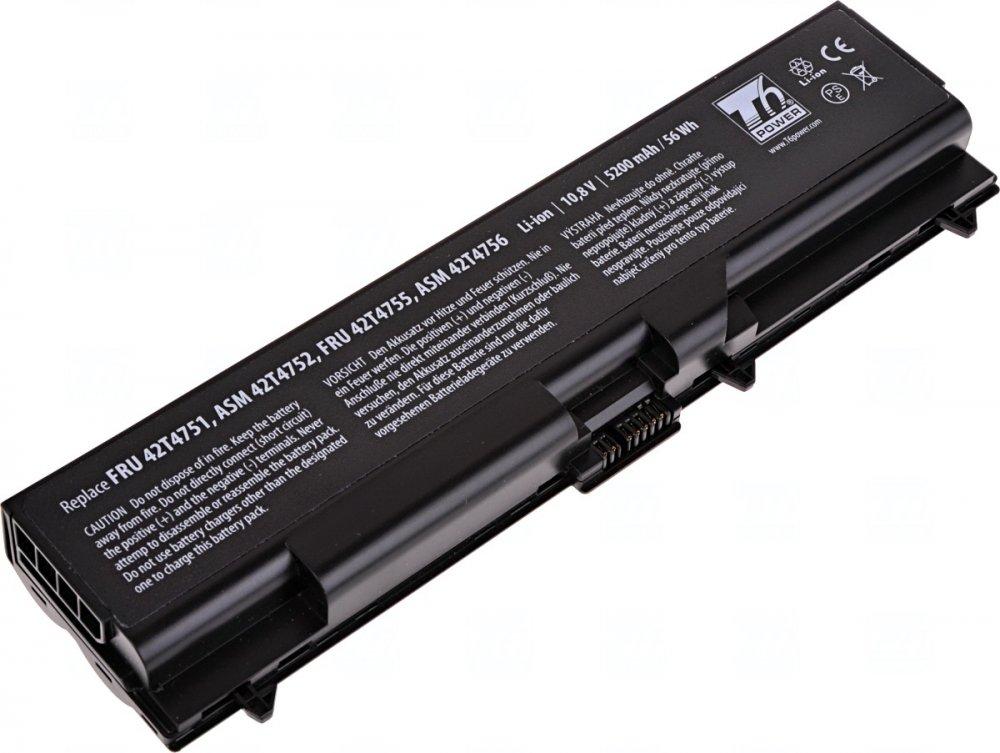 Baterie T6 power Lenovo ThinkPad T410, T420, T510, T520, L410, L420, L510, L520, 6cell, 5200mAh