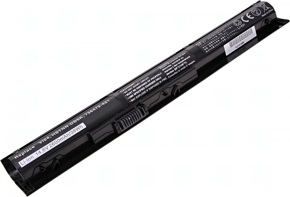 Baterie T6 power HP ProBook 440 G2, 445 G2, 450 G2, 455 G2, VI04XL, 4cell, 2600mAh