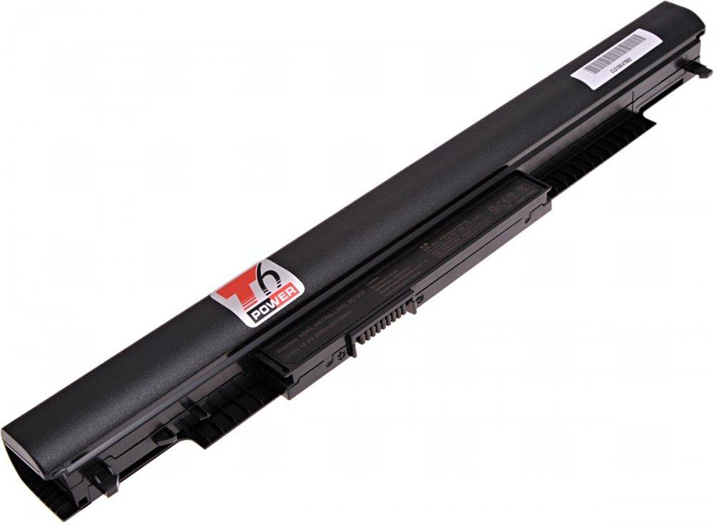 Baterie T6 power HP 240 G4, 245 G4, 250 G4, 255 G4, 14-ac, 15-ac, 255 G5, 2600mAh, 38Wh, 4cell
