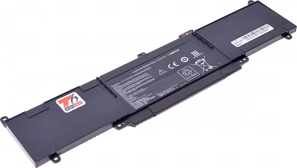 Baterie T6 power Asus UX303, BX303, RX303, U303LA, TP300LA, 4420mAh, 50Wh, Li-pol, 3cell
