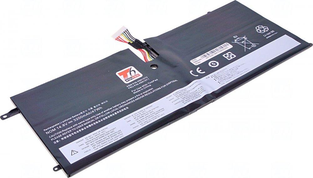 Baterie T6 power Lenovo ThinkPad X1 Carbon 1st Gen, 3200mAh, 47Wh, 4cell, Li-Pol