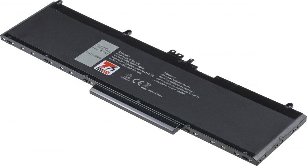 Baterie T6 power Dell Precision 15 3510, 7360mAh, 84Wh, 6cell, Li-pol