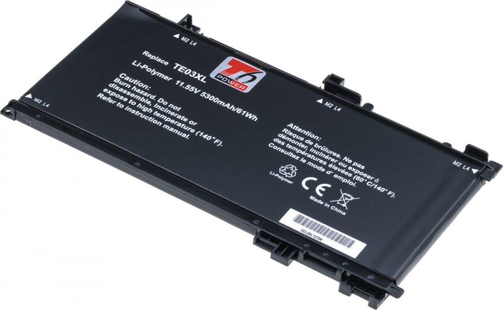 Baterie T6 power HP Pavilion 15bc000 15bc200 Omen 15ax000 5330mAh 61Wh 3cell Lipol