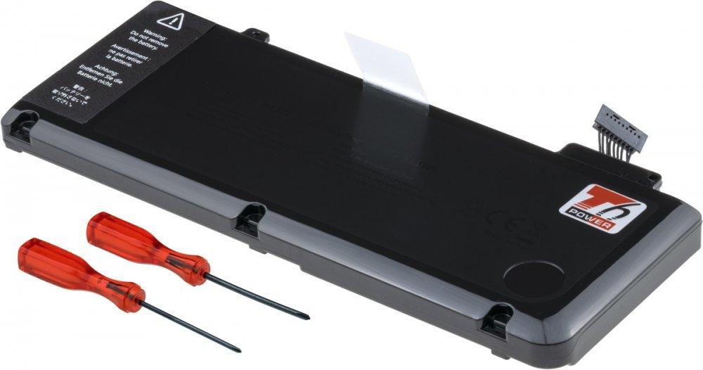 Baterie T6 power Apple MacBook Pro 13'' 2009, 2010, 2011, 2012, 5800mAh, 63Wh, 6cell, Li-pol