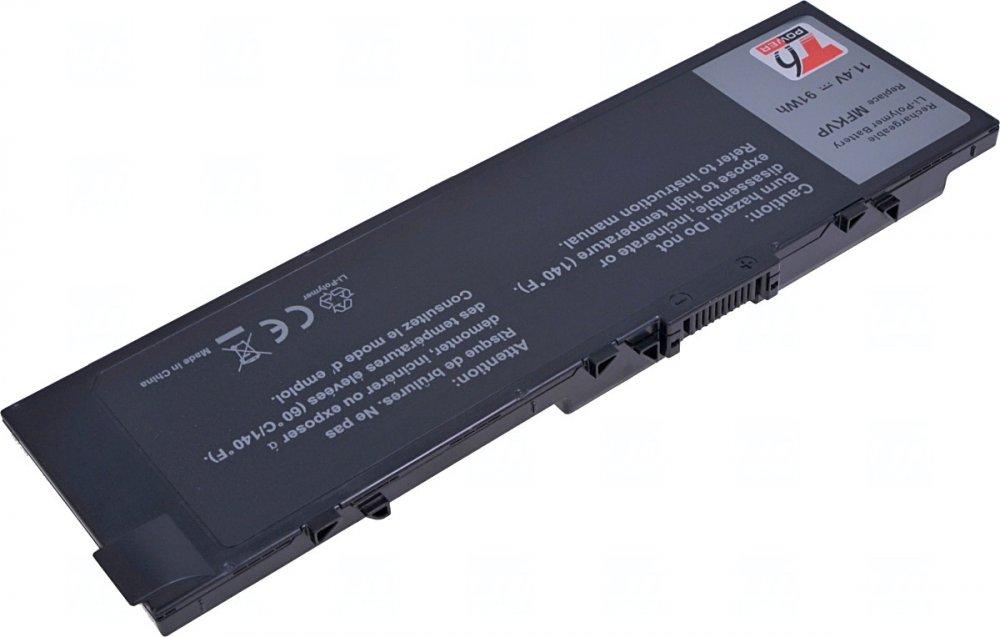 Baterie T6 power Dell Precision 15 7510, 7520, 17 7710, 7720, 7900mAh, 91Wh, 6cell, Li-pol