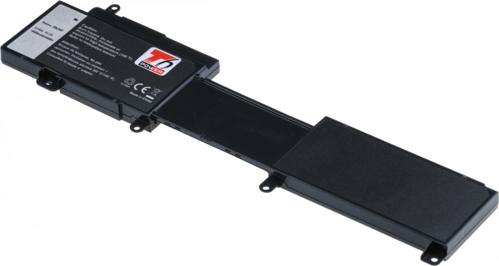 Baterie T6 power Dell Insprion 14z 5423, 15z 5523, 4000mAh, 44Wh, 6cell, Li-pol