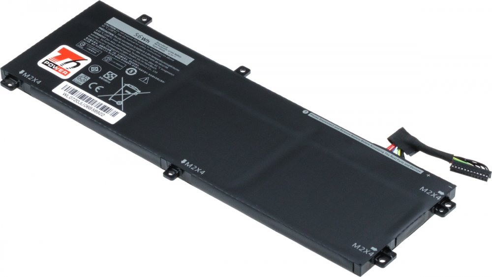 Baterie T6 power Dell Precision 15 5520 5530 XPS 15 9560 9570 4900mAh 56Wh 3cell Lipol