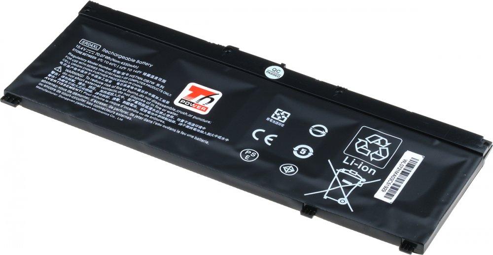 Baterie T6 power HP Omen 15-ce000, Pavilion Power 15-cb000 serie, 4550mAh, 70Wh, 4cell, Li-pol