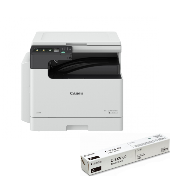Canon imageRUNNER 2425 MFP  toner a instalace