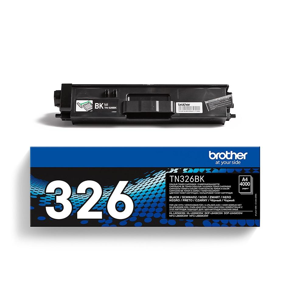 Brother TN-326BK, toner black, 4 000 str.