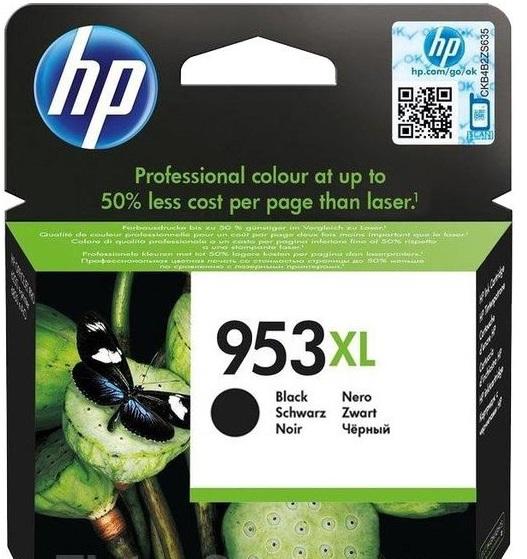 HP 953XL černá inkoustová kazeta, L0S70AE