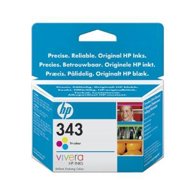 HP no. 343 - 3barevná ink. kazeta, C8766EE
