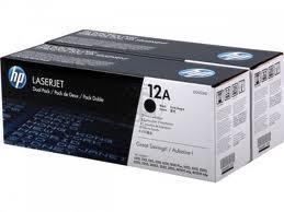 HP tisková kazeta černá,2-pack Q2612AD