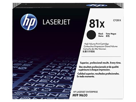 HP 81X tisková kazeta černá velká, CF281X