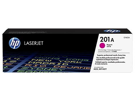 HP 201A tisková kazeta purpurová, CF403A