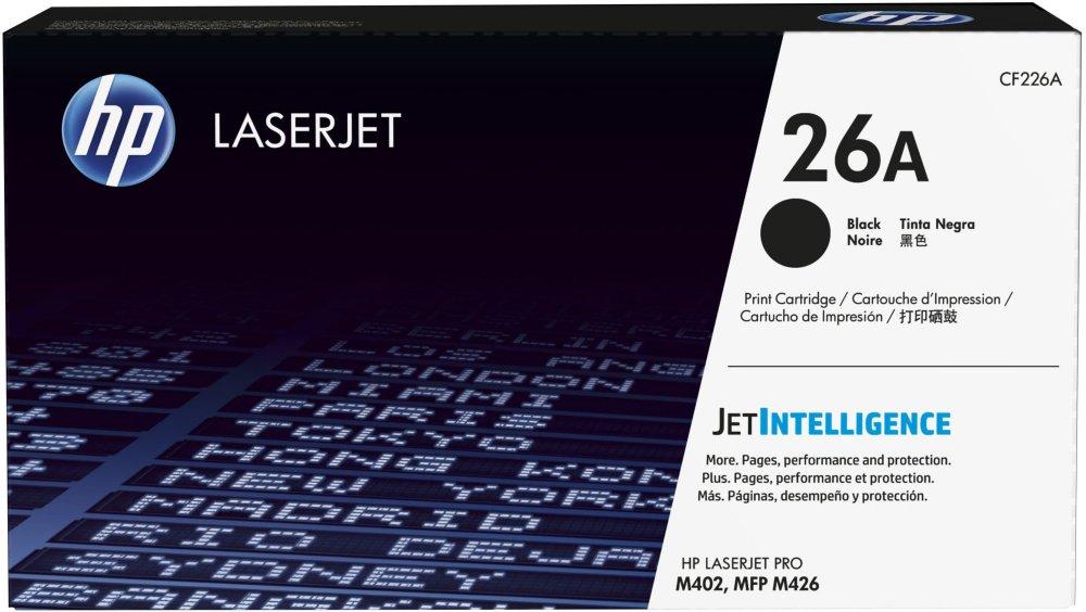 HP 26A tisková kazeta černá, CF226A