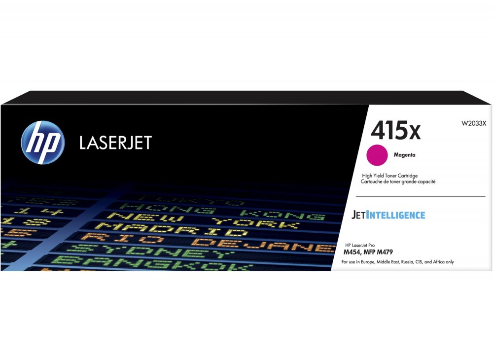 HP 415X Magenta LaserJet Toner Cartridge, W2033X