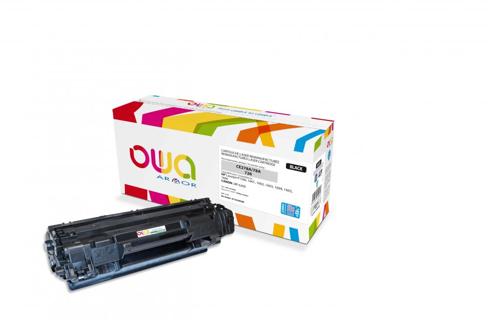 OWA Armor toner pro HP LJProP1566(CE278A),3.200s JUMBO