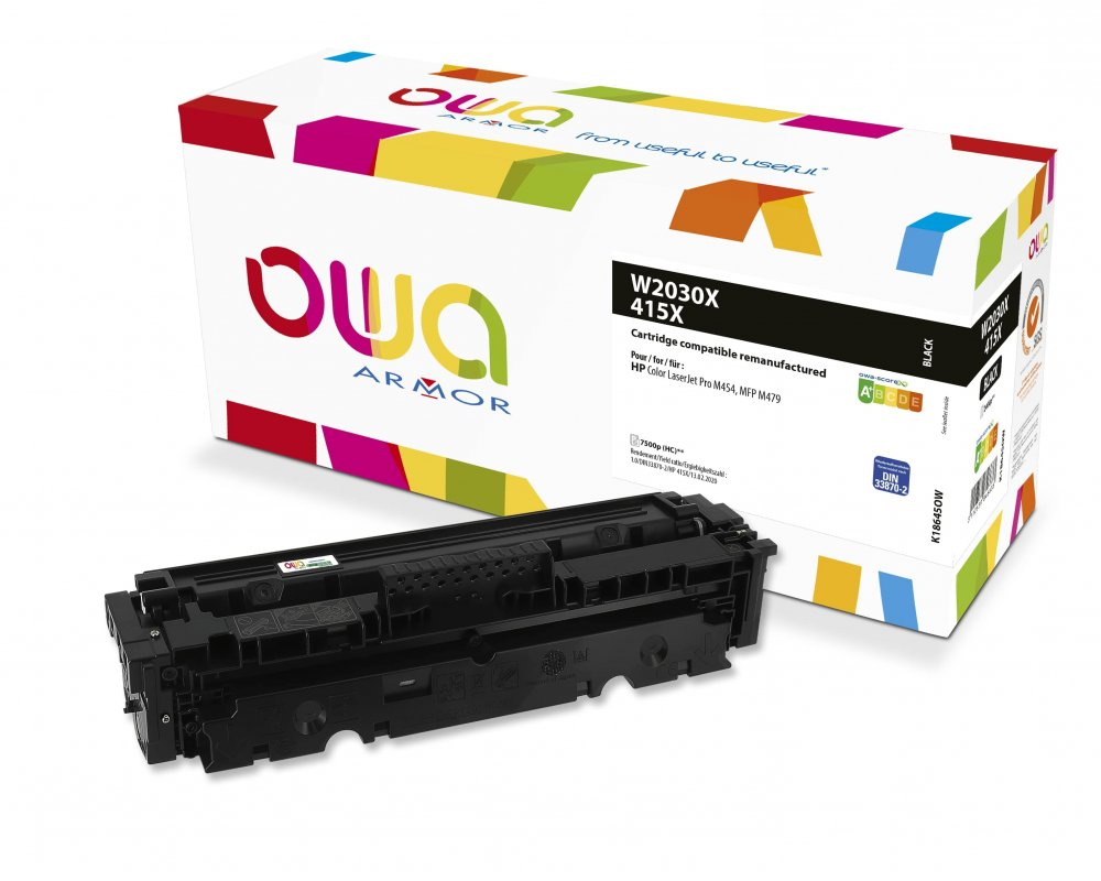 OWA Armor toner pro HP W2030X,černá/black