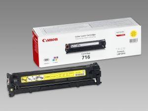 Canon toner CRG-716Y, žlutý