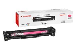 Canon toner CRG-718M, purpurový