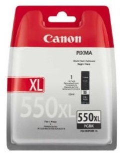 Canon PGI-550 XL BK, černá velká 2-pack
