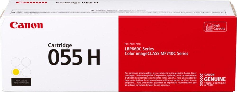 Canon CRG 055 H Yellow, 5 900 str.