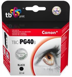 Ink. kazeta TB kompat. s Canon PG-40 Black