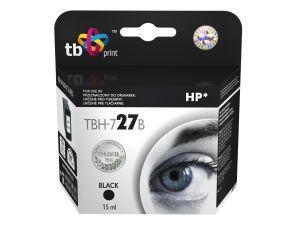 Ink. kazeta TB kompat. s HP C8727AE (No.27) Black