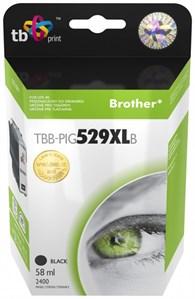 Ink. kaz. TB komp. s Brother LC529/539 PIG BK Nová