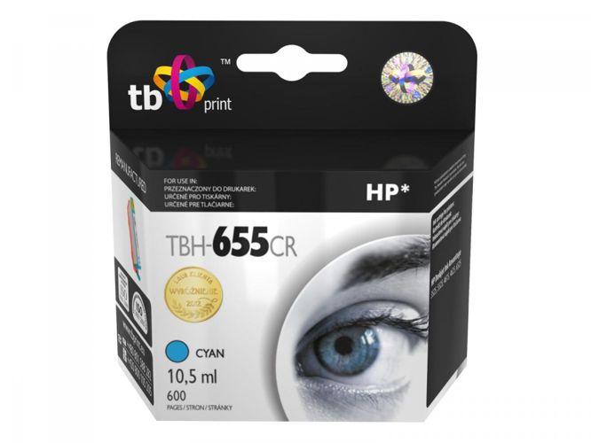 Ink. kazeta TB kompatibilní s HP 655, Cyan, ref.
