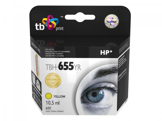 Ink. kazeta TB kompatibilní s HP 655, Yellow, ref.