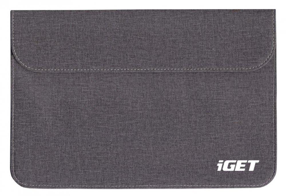 iGET iC10 - univerzální pouzdro do 10.1'' pro tablety, s magnetickým uzavíráním - šedočerná