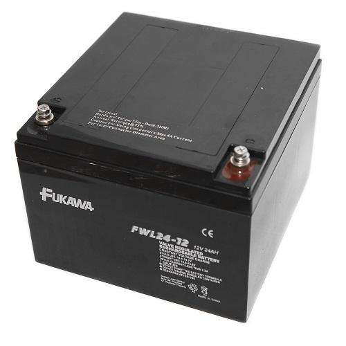 Akumulátor FUKAWA FWL24-12 (12V 24Ah živ. 10let)