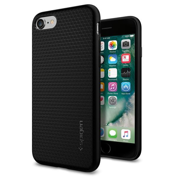 Ochranný kryt Spigen Liquid Air pro Apple iPhone 8/7/SE (2020) černý