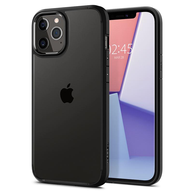 Ochranný kryt Spigen Ultra Hybrid pro Apple iPhone 12 Pro Max (6,7'') černý