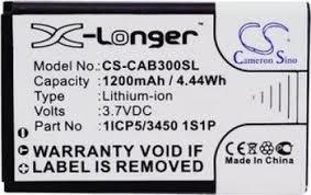Baterie pro Caterpillar CAT B30 1200mAh, Li-ion